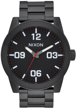 Nixon Corporal SS All Black White (A346756)