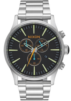 Nixon Sentry Chrono Black Multi (A3862336)