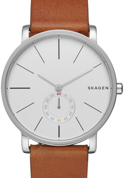 Skagen SKW6273 Hagen Saddle Leather Watch (SKW6273)