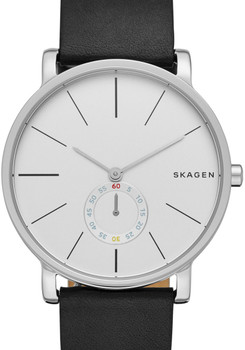 Skagen SKW6274 Hagen Black Leather Watch (SKW6274)