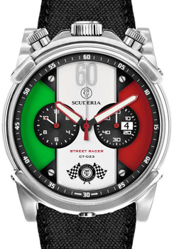 CT Scuderia Street Racer Chronograph Italia Watch (CS10142)