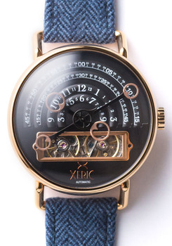 Xeric Halograph Automatic - Savile Row Edition - Nigel (HLG-3016-NIGEL)