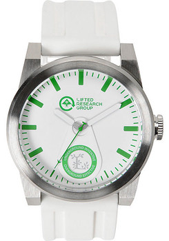 LRG Volt Silver White Watch (VOL-01011545-01)