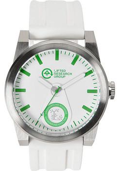 LRG Volt Silver White Watch (VOL-01011545-01)
