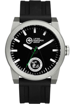 LRG Volt Silver Black Watch (VOL-01011040-01)