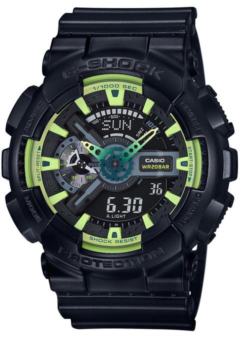G-Shock GA-110 Sporty Illumi Series Black (GA-110LY-1A)