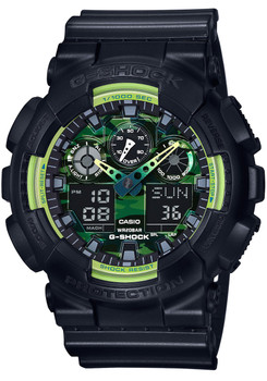 G-Shock GA-100 Sporty Illumi Series Black (GA-100LY-1A)