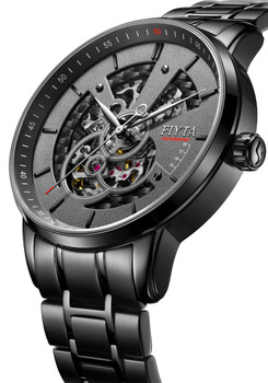 Fiyta Photographer Automatic Skeleton Black (GA8486.BBB)