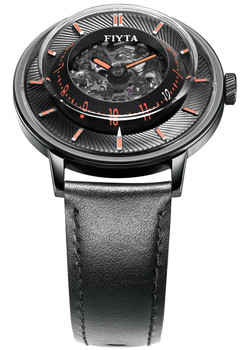 Fiyta 3D-Time Skeleton Automatic Black Orange (WGA868001.BBB)