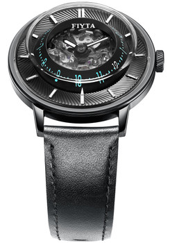 Fiyta 3D-Time Skeleton Automatic Black Blue (WGA868003.BBB)