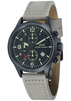 AVI-8 Hawker Harrier II Chrono Black Army Grey (AV-4001-08)