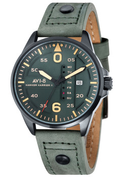 AVI-8 Hawker Harrier II Date Black Dark Green (AV-4003-04)