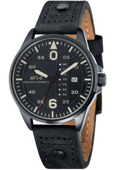 AVI-8 Hawker Harrier II Date Black Green (AV-4003-07)