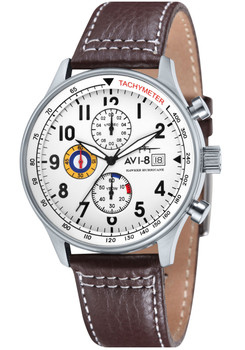 AVI-8 Hawker Hurricane Steel White Brown (AV-4011-01)