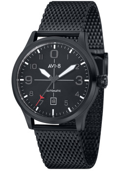 AVI-8 Flyboy Automatic Black Mesh (AV-4021-44)