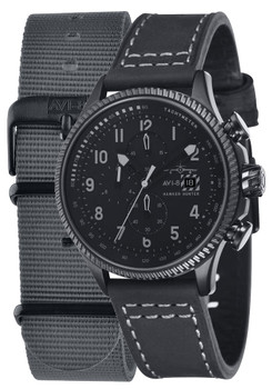 AVI-8 Hawker Hunter Chrono Black Grey (AV-4036-05)