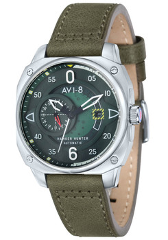 AVI-8 Hawker Hunter Automatic Steel Green