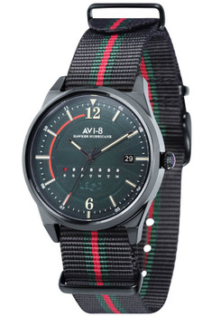 AVI-8 Hawker Hurricane Date Black Green Nato