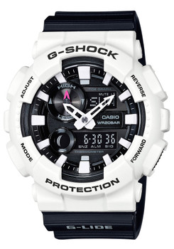 G-Shock GAX-100 G-LIDE Tide White Black