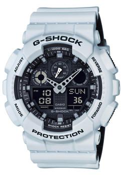G-Shock GA-100 Military Series White