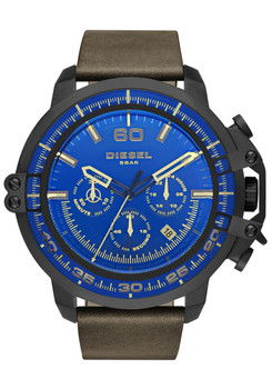 Diesel DZ4405 Deadeye Chrono Black Brown