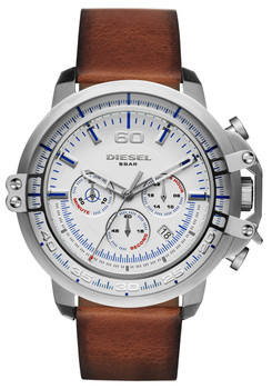 Diesel DZ4406 Deadeye Chrono Silver Brown