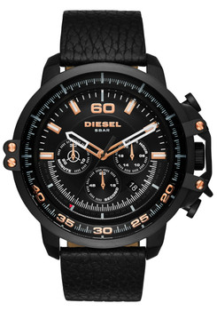 Diesel DZ4409 Deadeye Chrono Black Rose Gold
