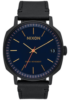 Nixon Regent II All Black Navy