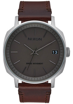 Nixon Regent II Charcoal Dark Brown