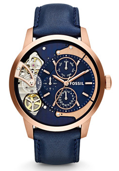 Fossil ME1138 Townsman Rose Gold Navy