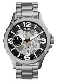 Fossil ME3129 Nate Mechanical Stainless Steel