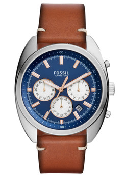 Fossil CH3045 Drifter Chronograph Light Brown Leather
