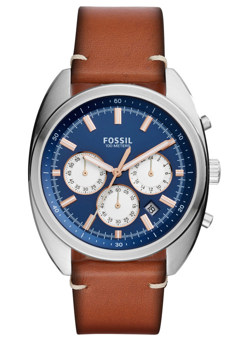 Fossil CH3045 Drifter Chronograph Light Brown Leather (CH3045)