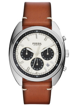 Fossil CH3044 Drifter Chronograph Dark Brown Leather