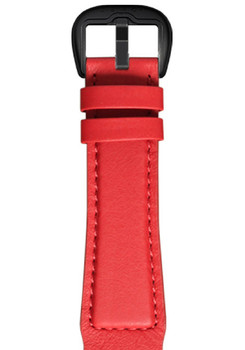 Dietrich Red Leather Strap