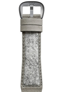 Dietrich Grey Tweed Strap