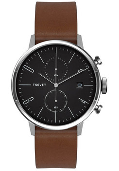 Tsovet JPT-CC38 Chrono Brown/Black (CC111012-45)