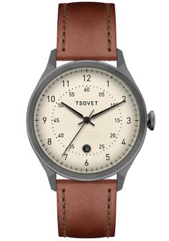 Tsovet SVT-RM40 Date Gunmetal/Brown (RM223712-40)