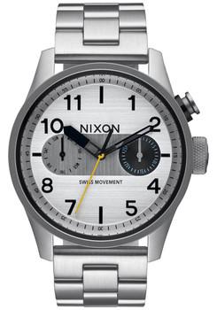 Nixon Safari Deluxe Silver (A976130)