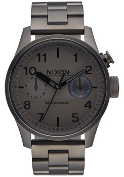 Nixon Safari Deluxe All Gunmetal (A976632)