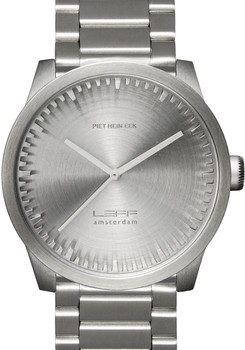 LEFF Amsterdam Tube Watch S42 All Steel (LT72101)