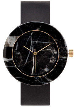Analog Watch Co Circular Mason Black Marble Black (GB-BO)