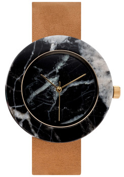 Analog Watch Co Circular Mason Black Marble Tan (GT-BO)