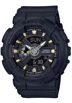 G-Shock BabyG BA-110 Black Gold (BA-110GA-1A)