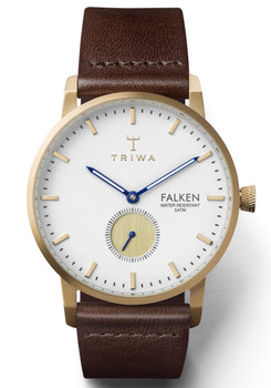 Triwa Snow Falken Dark Brown Classic
