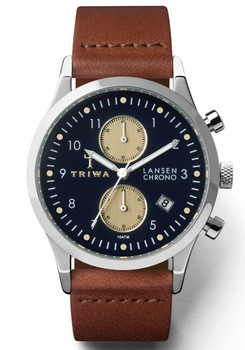 Triwa Pacific Lansen Chrono Brown Classic
