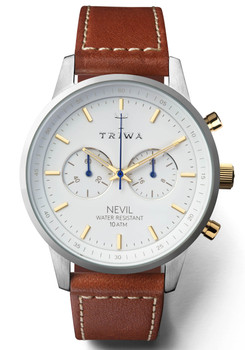 Triwa Snow Nevil Brown Sewn Classic