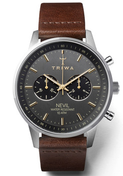 Triwa Smoky Nevil Dark Brown Classic