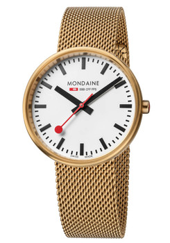 Mondaine Evo Mini Giant SS Gold