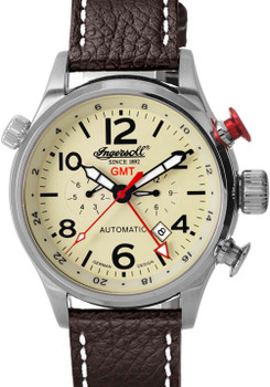 Ingersoll IN3218CR Lawrence Automatic Silver (IN3218CR)